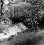 Abbey Mill Weir, River Nidd, Knaresborough